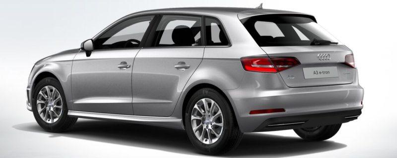 Audi A3 e-tron achterkant