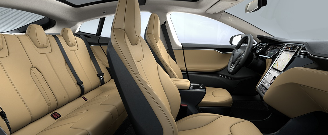 Tesla model s ervaringen eerste week for Interieur tesla model s
