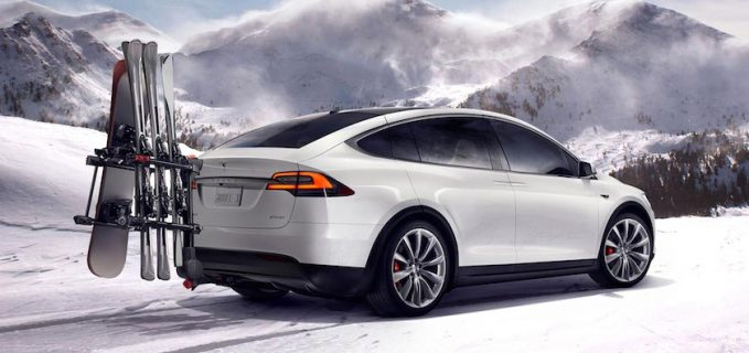 Tesla Model X Met Trekhaak