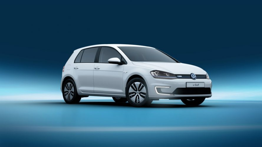 volkswagen e golf elektrische auto. Black Bedroom Furniture Sets. Home Design Ideas