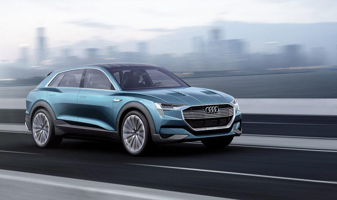 Audi Q6 E Tron In 2018 Elektrische Auto Van Audi