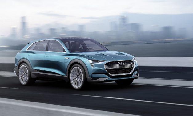 Audi Q6 e-tron in 2018 – elektrische auto van Audi