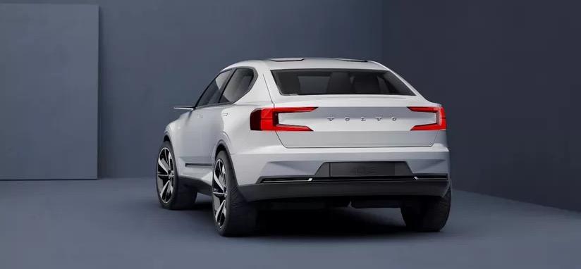 Volvo XC40 concept auto – volledig elektrisch