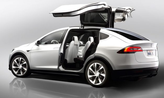 Tesla Model X falcon doors problemen door software