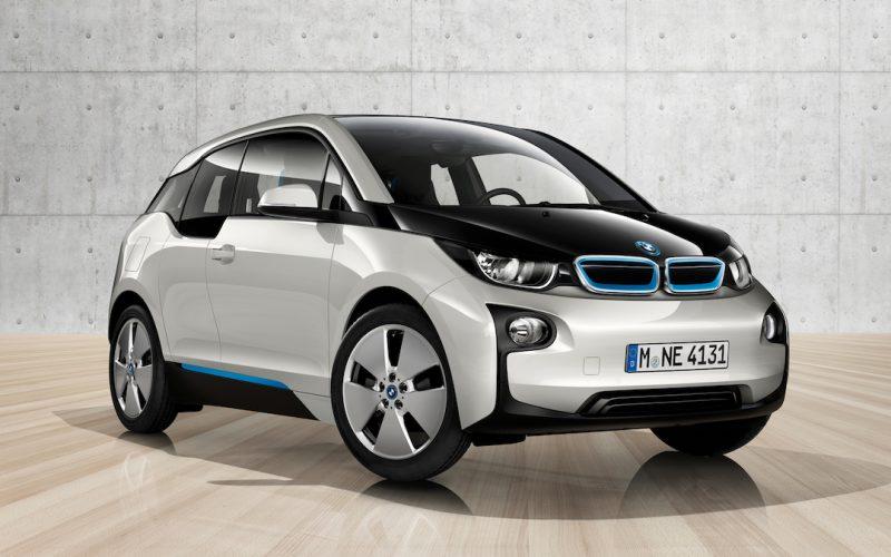 BMW i3 2013 wit