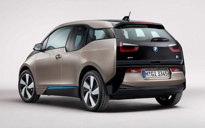 BMW i3 achteraanzicht