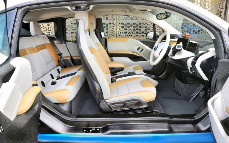 Bmw i3 dual colour elektrischeauto com for Interieur i3