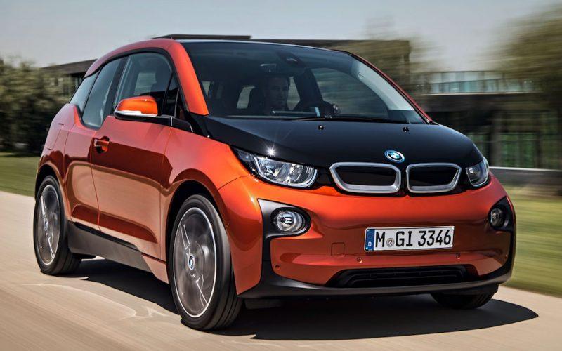 Vooraanzicht BMW i3