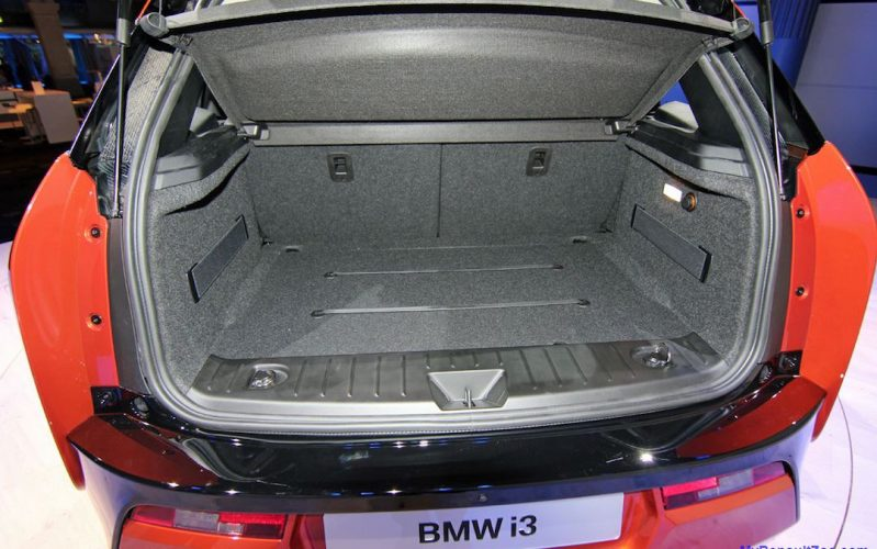 BMW i3 opbergruimte