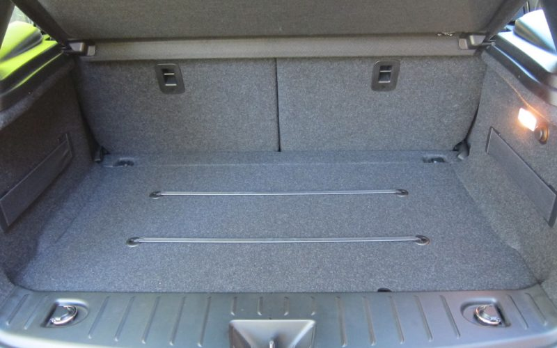 BMW i3 kofferbak