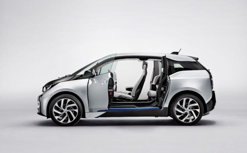 BMW i3 zijaanzicht