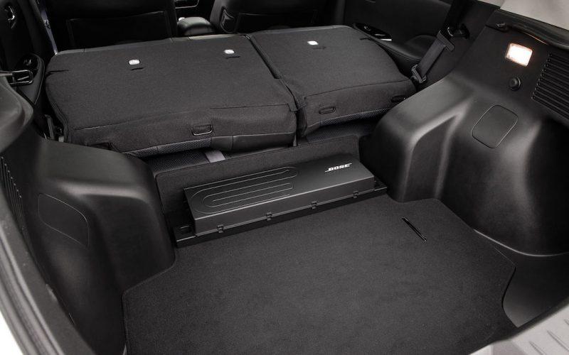 Nissan Leaf kofferbak
