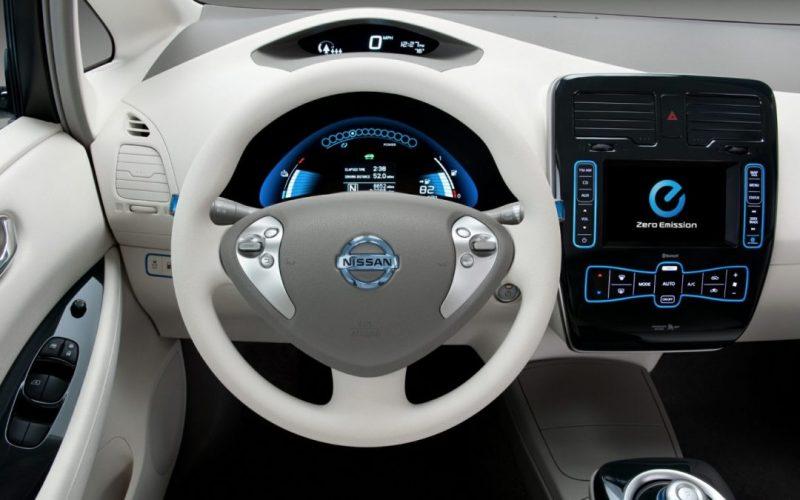 Interieur Nissan Leaf 2016