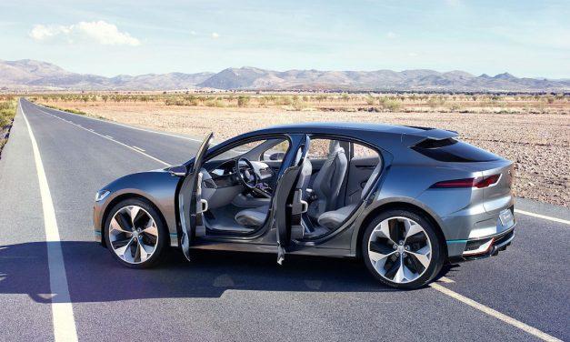 Jaguar I-Pace concept overview