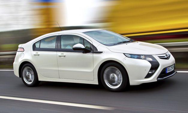 Opel Ampera plug-in hybrid 2014