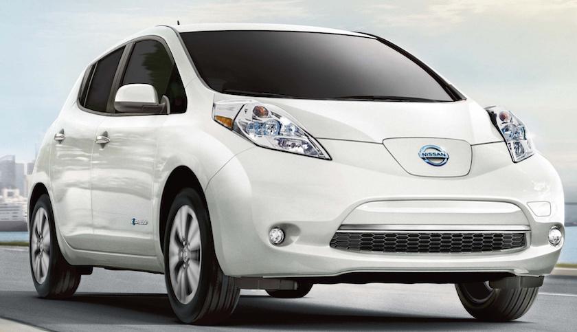 Nissan Leaf Elektrische Auto Elektrischeauto Com