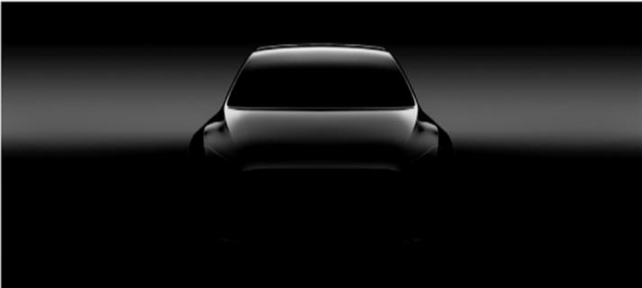 Tesla Model Y teaser foto