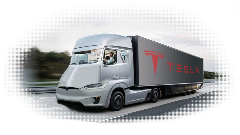 Tesla Semi – elektrische vrachtwagen van Tesla binnenkort onthult