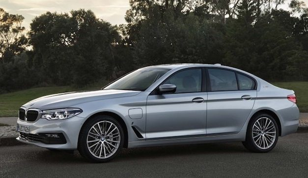 Draadloos opladen op de 2018 BMW 530e iPerformance