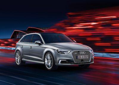 Audi A3 e-tron dynamisch