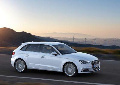 Audi A3 e-tron molens