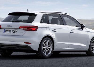 Audi A3 e-tron wit