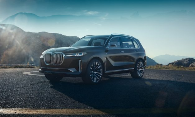 BMW X7 iPerformance concept is een statement van BMW