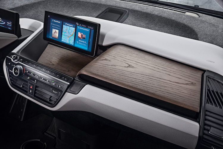 bmw i3 2018 console elektrischeauto com. Black Bedroom Furniture Sets. Home Design Ideas