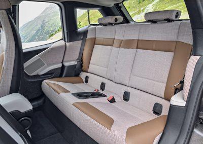 BMW i3 achterbank