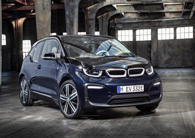 BMW i3 blauw 2018