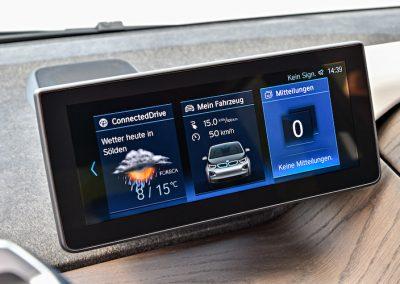 BMW i3 console