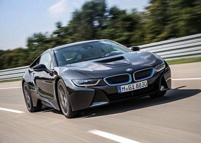 BMW i8 plug-in hybride 1