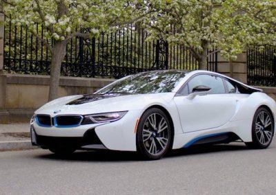 BMW i8 plug-in hybride 5