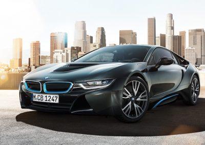 BMW i8 plug-in hybride