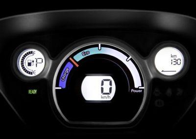 Citroën C-Zero dashboard