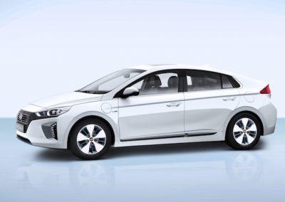 Hyundai IONIQ Plug-in zijkant
