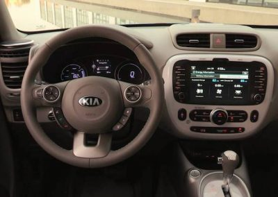 Kia Soul EV interieur