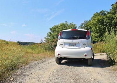 Mitsubishi i-MiEV achter