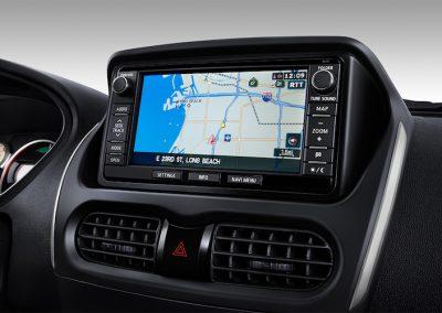 Mitsubishi i-MiEV navigatie