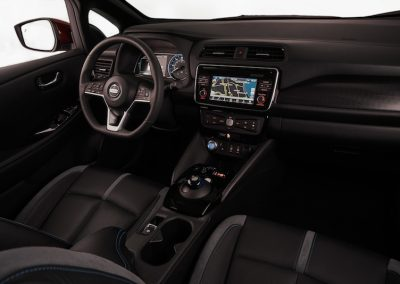 Nissan Leaf interieur