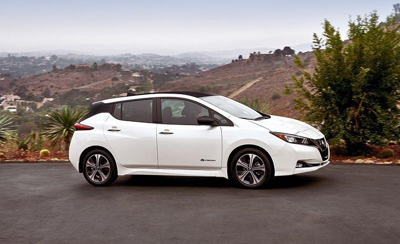 Nieuwe Nissan Leaf rij impressie – interieur en exterieur Leaf 2018