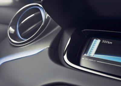 Renault Zoe R90 dashboard