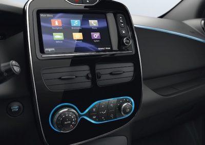 Renault Zoe R90 interieur