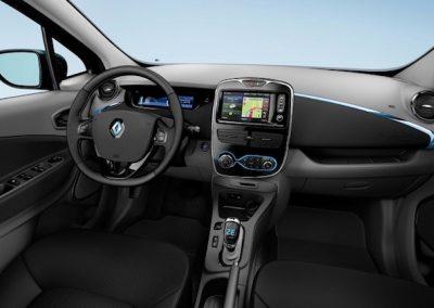 Renault Zoe R90 interieur groot