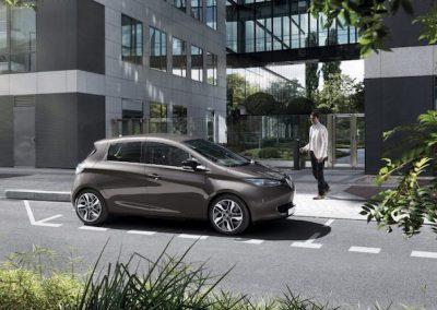 Renault Zoe R90 stad