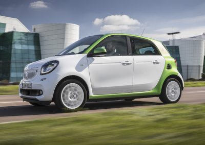 Smart ForFour Electric Drive wit