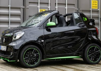 Smart ForTwo Cabrio Electric Drive container