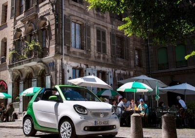Smart ForTwo Cabrio Electric Drive wit
