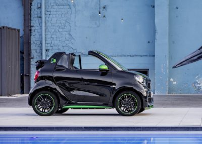 Smart ForTwo Cabrio Electric Drive zwembad
