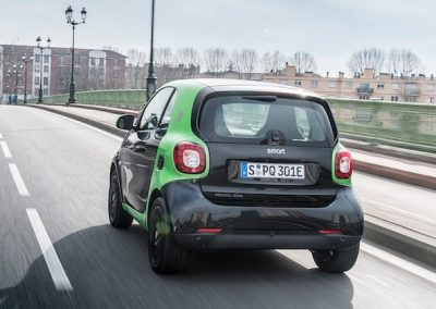 Smart ForTwo Electric Drive achter